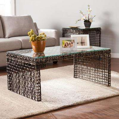 Bamboo Gl Coffee Table The