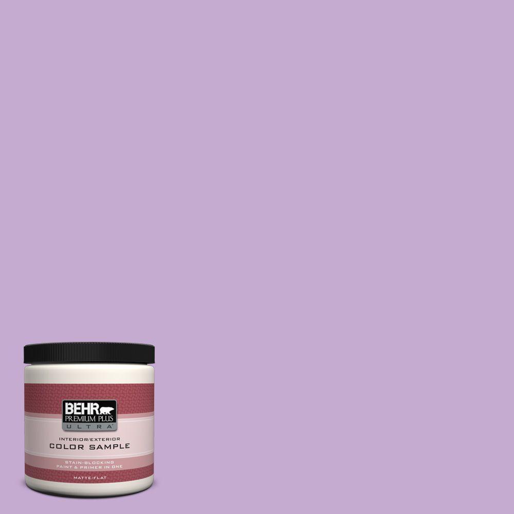 BEHR Premium Plus Ultra 8 oz. #660B-4 Pale Orchid Interior/Exterior Paint Sample
