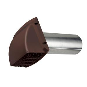 Everbilt Wide Mouth Dryer Vent Hood In Brown Bpmh4bhd6