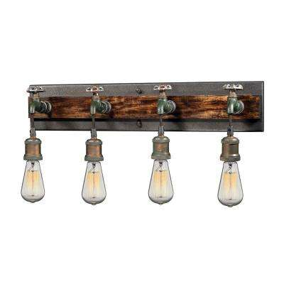 Jonas 4-Light Multi-Tone Weathered Wall Sconce