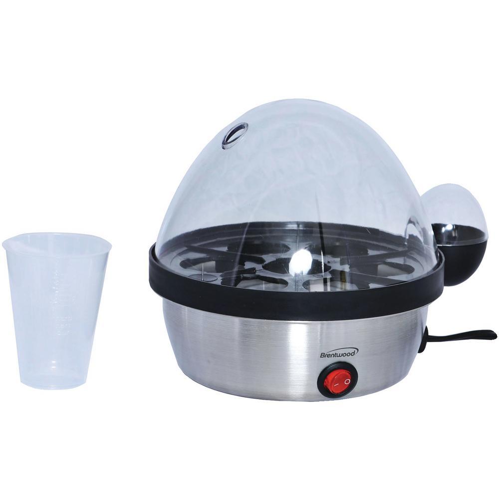 6-Egg Silver Egg Cooker