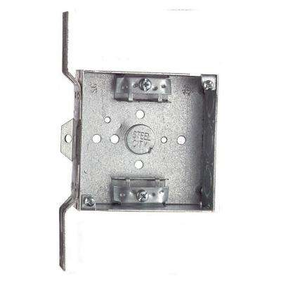 4 in. Steel Square Electrical Box (Case of 25)