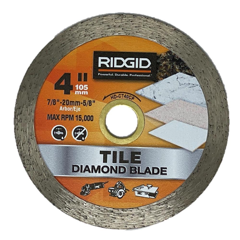 4 in. Continuous Diamond Blade