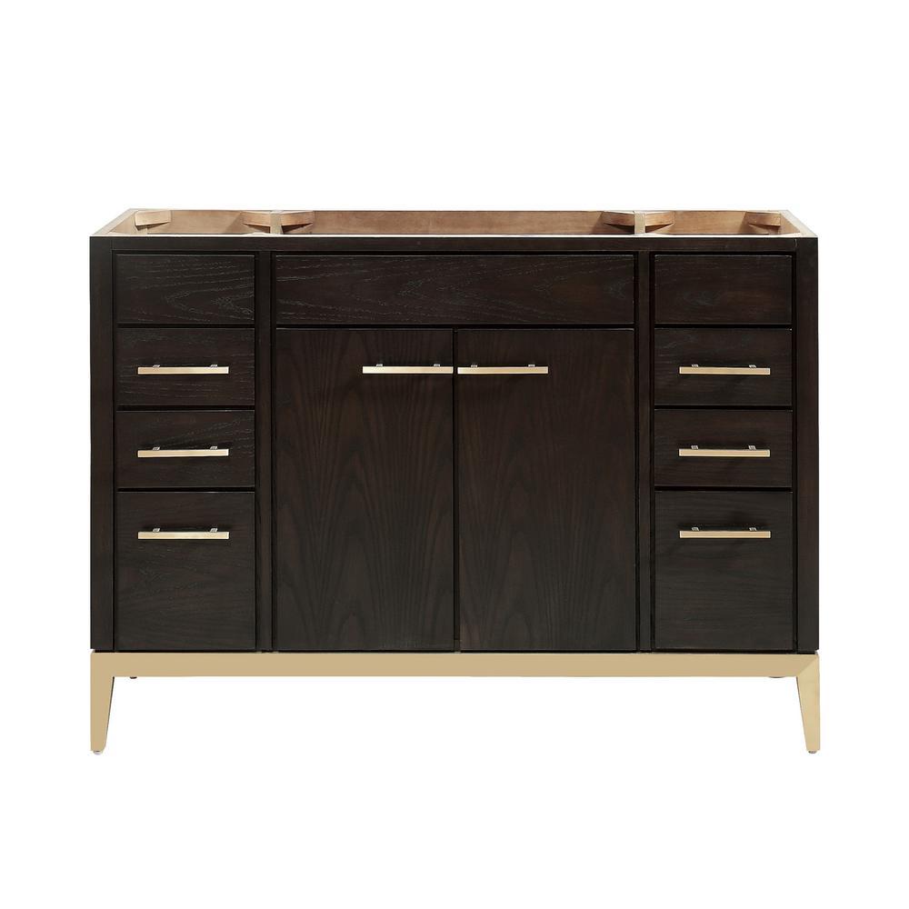 Hepburn 48 in. W x 21.5 in. D x 34 in. H Bath Vanity Cabinet Only in Dark Chocolate