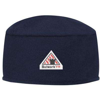Thermal FR Men's Medium Navy Fleece Beanie