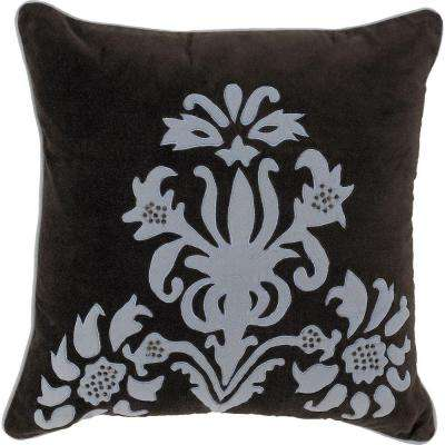 ElegantB2 18 in. x 18 in. Decorative Down Pillow