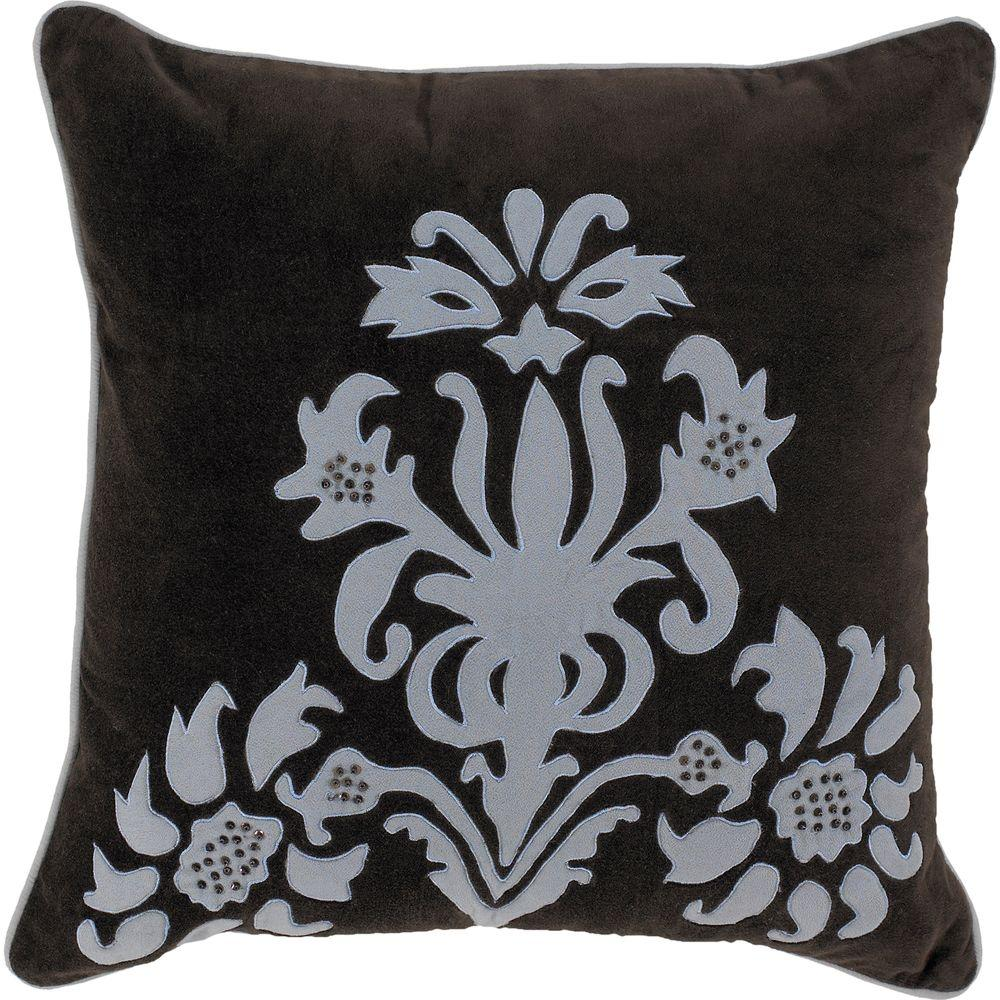Decorative Down Pillows : Artistic Weavers ElegantB2 18 in. x 18 in. Decorative Down Pillow-ElegantB2-1818D - The Home Depot