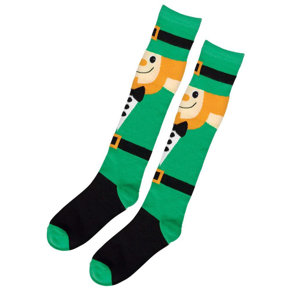 Leprechaun St. Patrick's Day Knee High Socks (2-Count, 2-Pack)