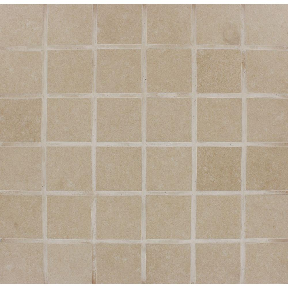 Ms International Cappuccino 12 In X 12 In Polished: MS International Beton Khaki 12 In. X 12 In. X 10 Mm
