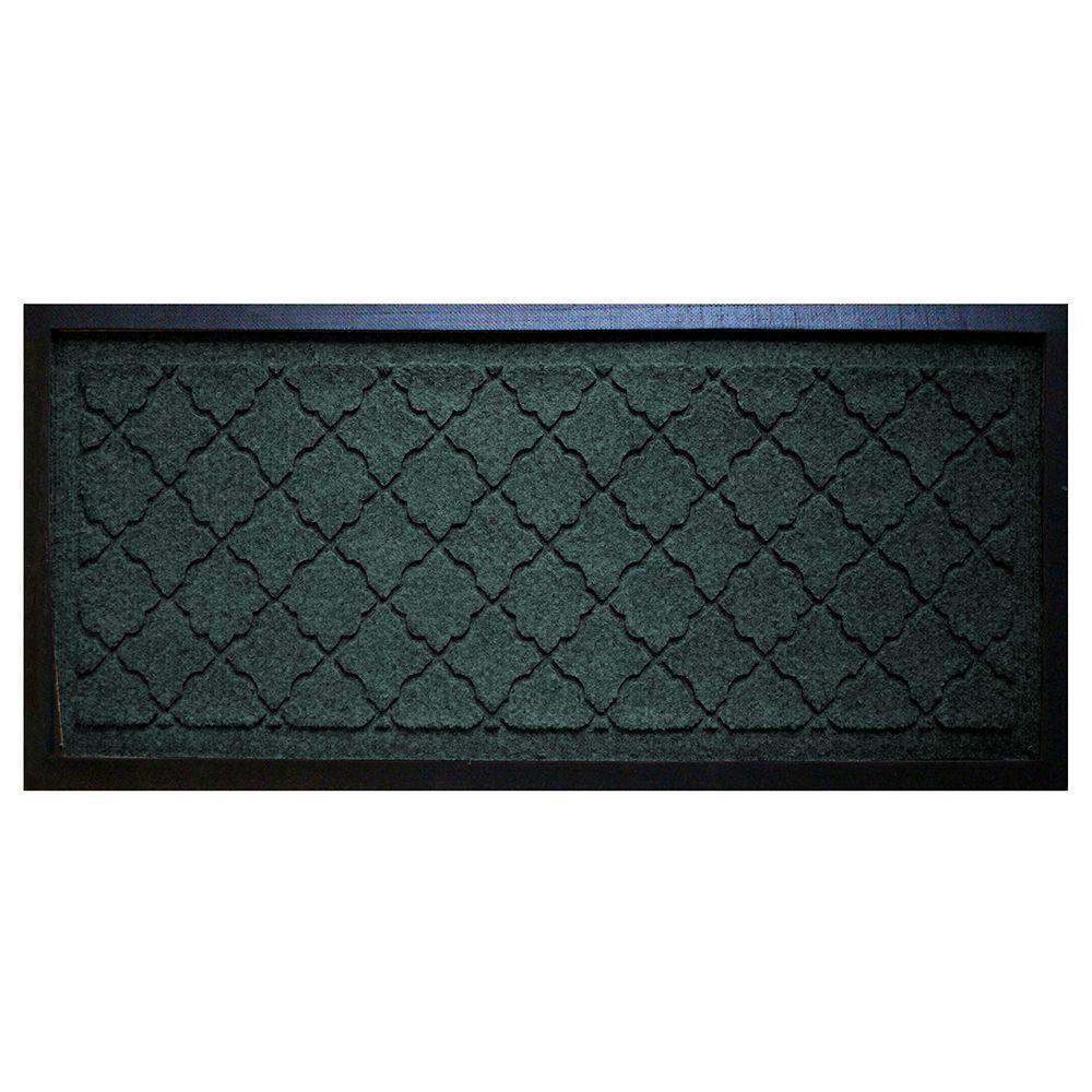 aqua shield evergreen 15 in x 36 in cordova boot tray 20626591536 the home depot. Black Bedroom Furniture Sets. Home Design Ideas