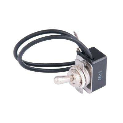 10 Amp Metal Toggle Switch with Leads