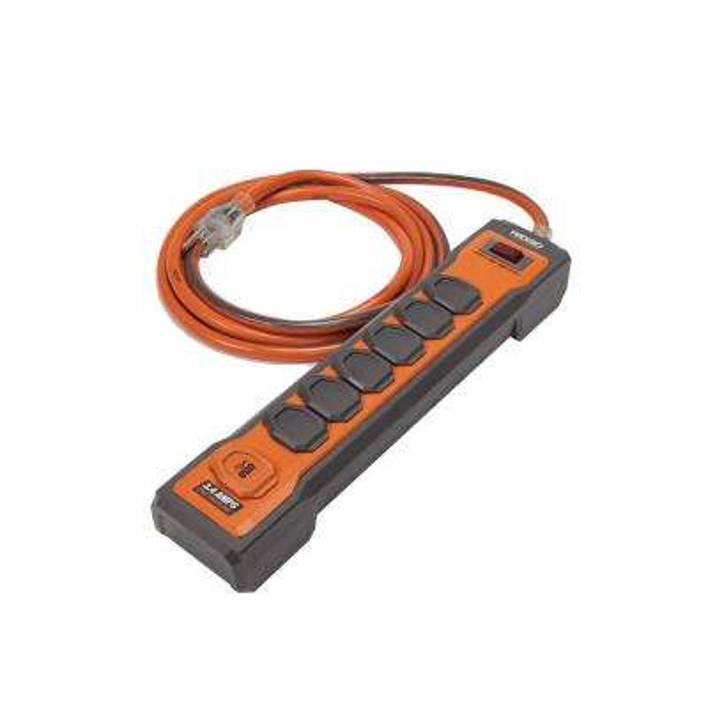 6-Outlet Surge Protector Plus USB
