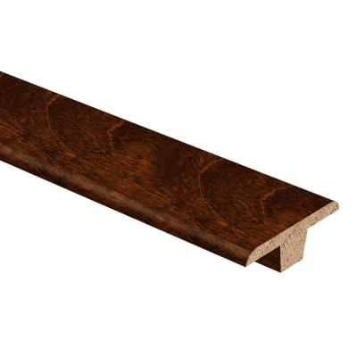 Antique Birch 3/8 in. Thick x 1-3/4 in. Wide x 94 in. Length Hardwood T-Molding
