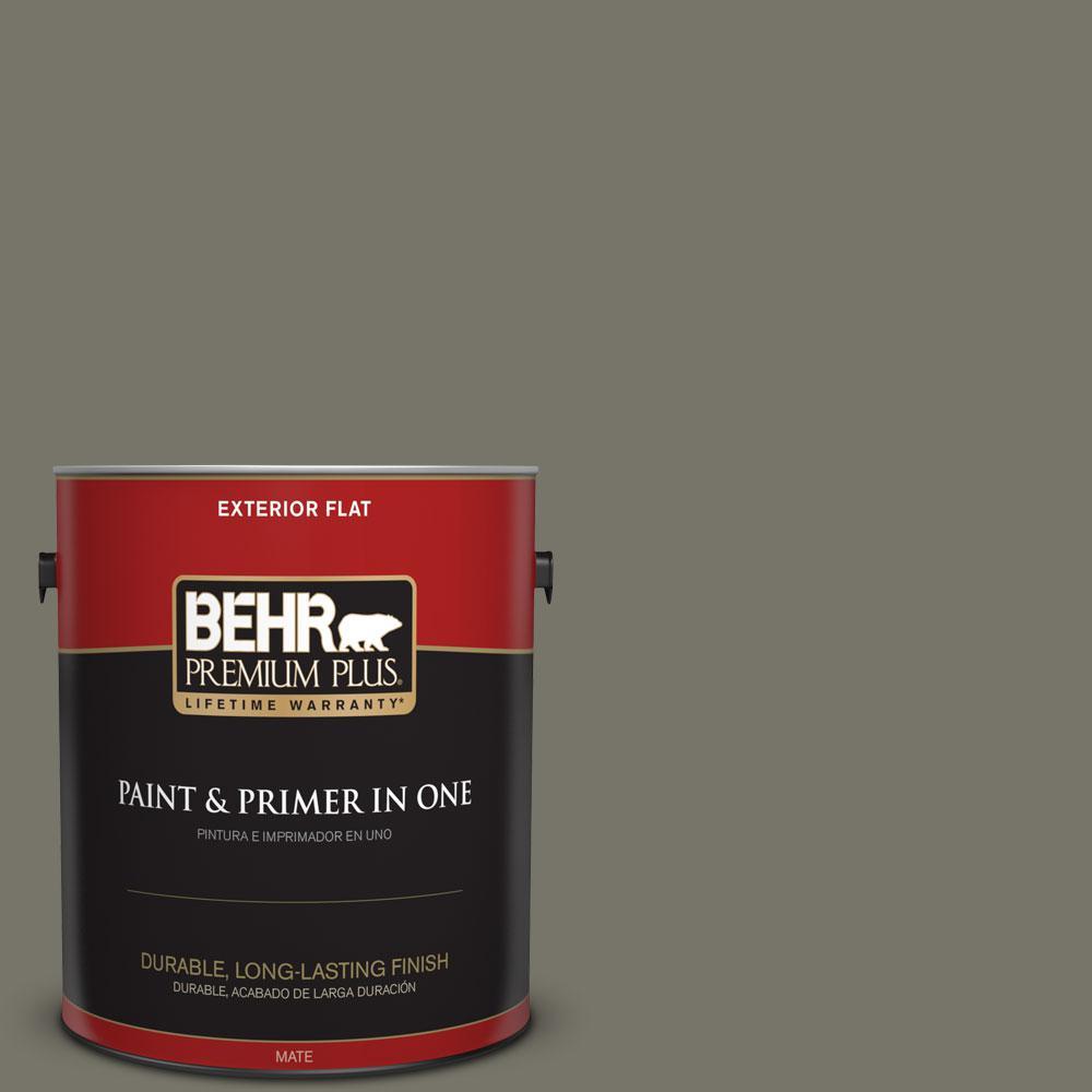 1-gal. #BXC-44 Pepper Mill Flat Exterior Paint