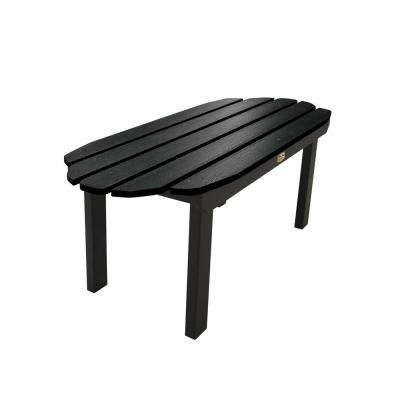 Essential Abyss Rectangular Plastic Outdoor Coffee Table