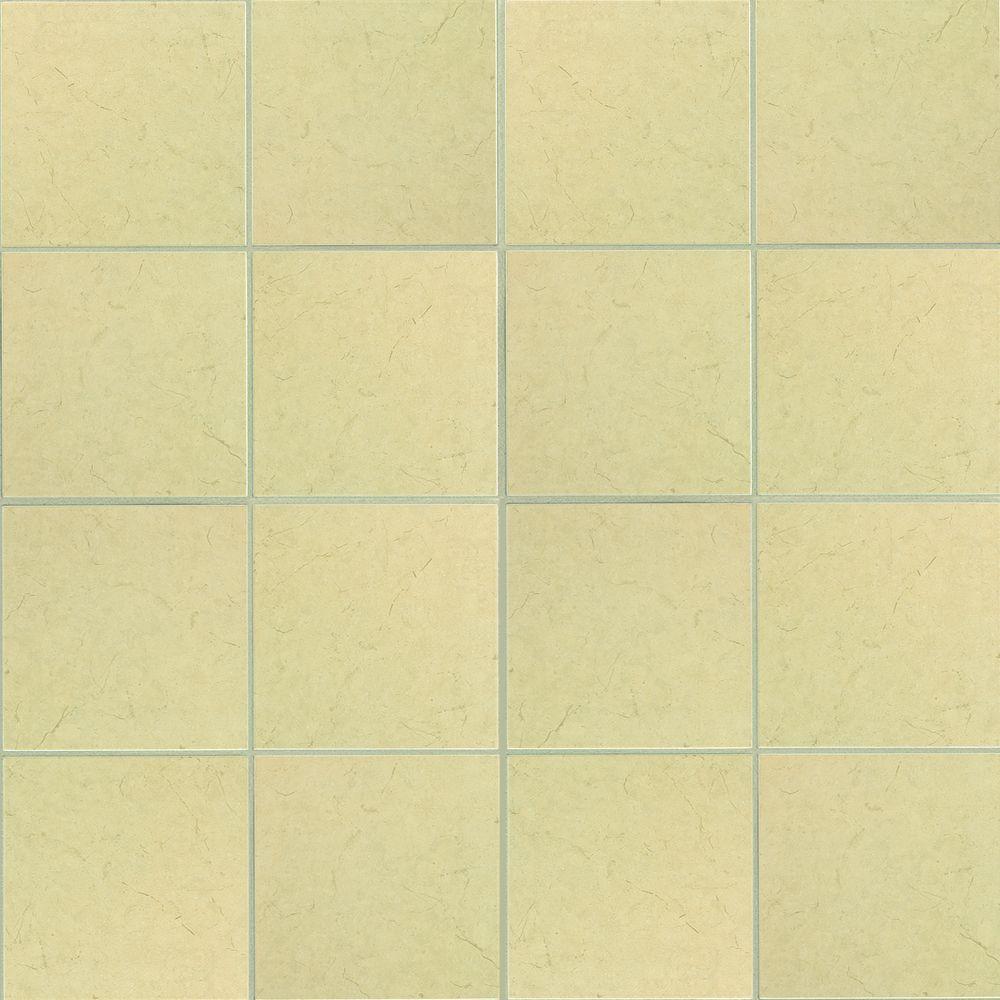 Marissa Crema Marfil 12 in. x 12 in. x 8 mm Ceramic Mosaic Wall Tile