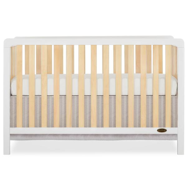 Ridgefield White and Natural 5 In 1 Convertible crib