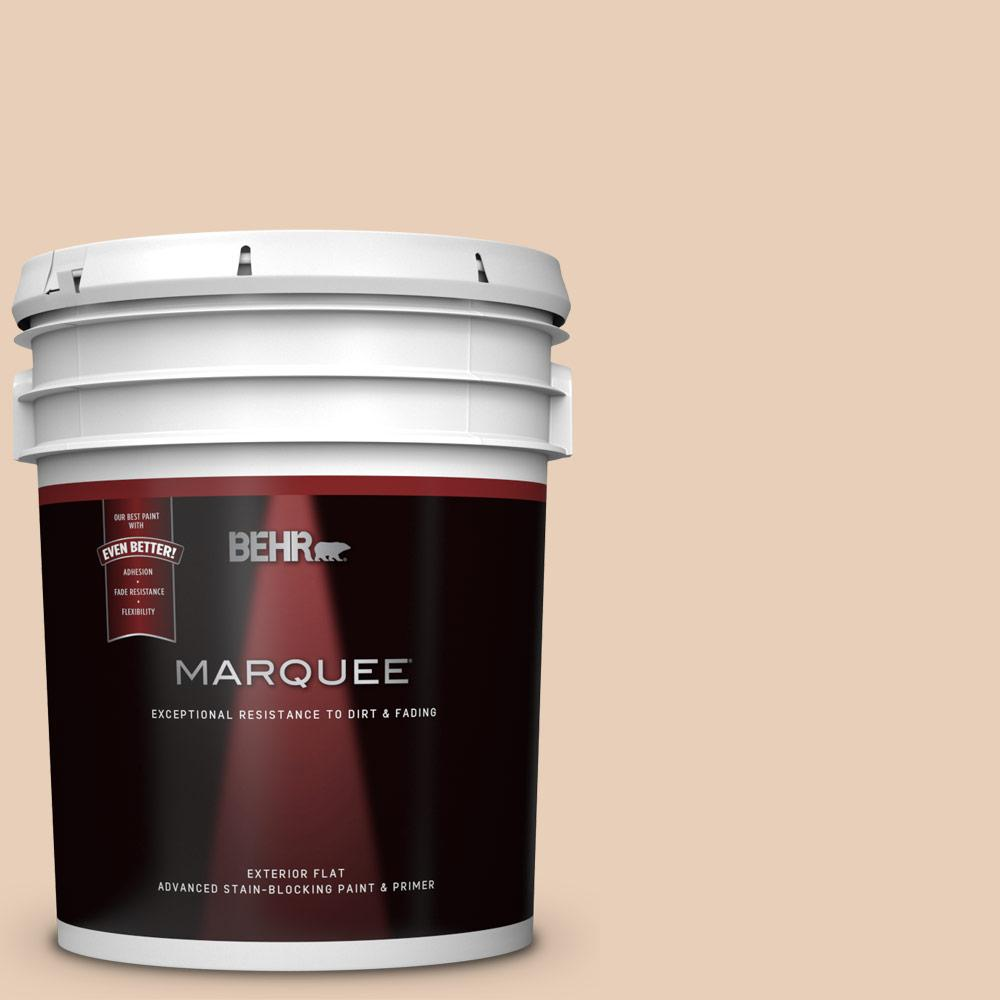 Behr Marquee 5 Gal Ecc 16 1 Floral Bluff Flat Exterior Paint And Primer In One 445005 The Home Depot