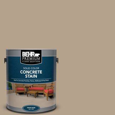 1 gal. #PFC-33 Washed Khaki Solid Color Flat Interior/Exterior Concrete Stain