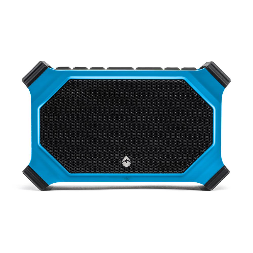 ECOSLATE Waterproof Bluetooth Speaker, Blue