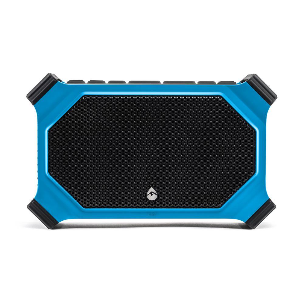 ECOSLATE Waterproof Bluetooth Speaker, Blue