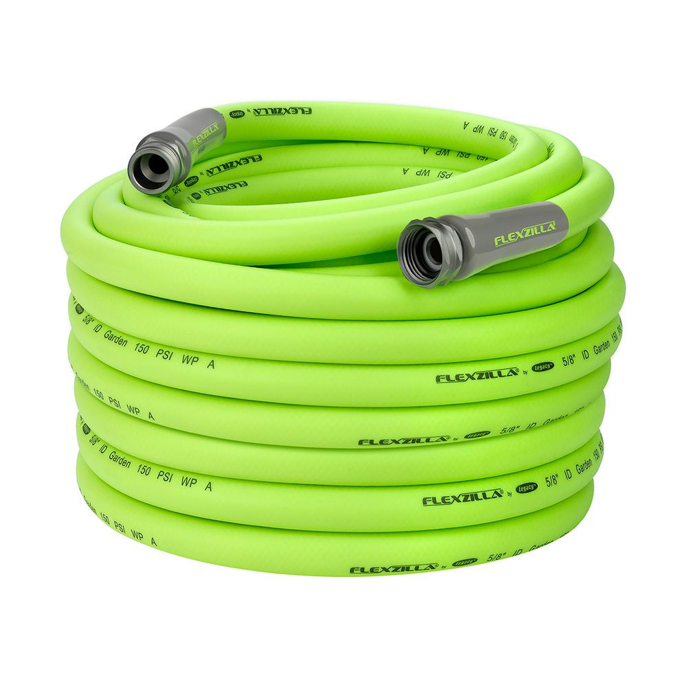 Flexzilla 5/8 in. x 100 ft. ZillaGreen Garden Hose with 3/4 in. GHT Fittings