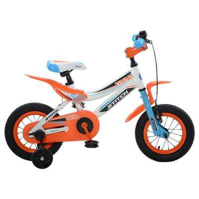 Trend Boy's Bike, 12 in. wheels, 9 in. frame in Blue/Orange
