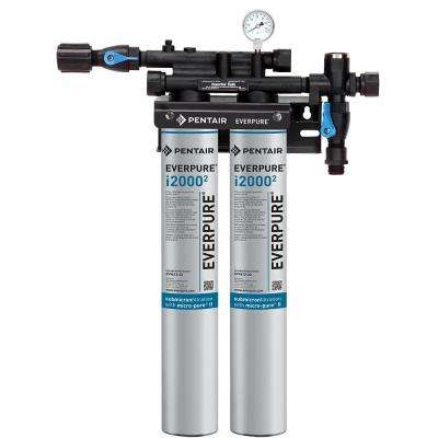 Insurice Twin Commercial Ice Machine Water Filtration System