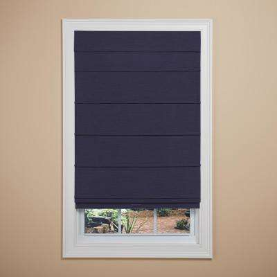 Cordless Room Darkening Fabric Roman Shade (Price Varies by Size)