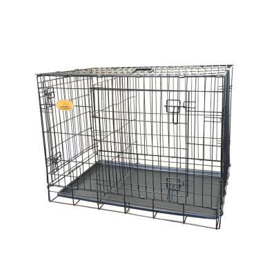 42 in. x 28 in. x 30 in. Large Wire Dog Crate