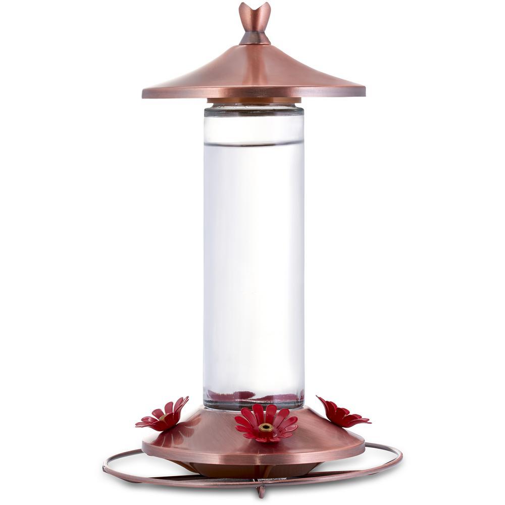 Perky-Pet Perky-Pet 12 oz. Elegant Copper Hummingbird Feeder