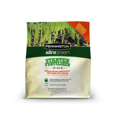 2.5 lbs. UltraGreen 12-22-8 Starter Fertilizer