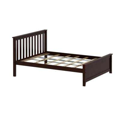 Espresso Full Size Single Bed