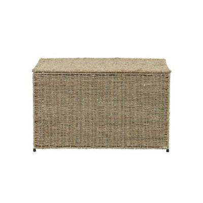 Small Wicker Storage Chest, Natural