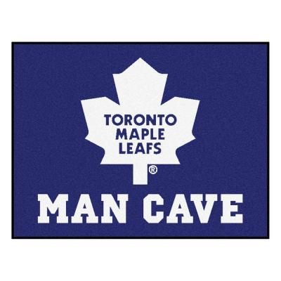 Toronto Maple Leafs Blue Man Cave 3 ft. x 4 ft. Area Rug