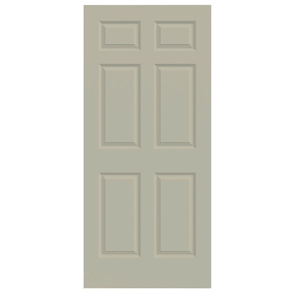 36 in. x 80 in. Colonist Desert Sand Painted Smooth Molded