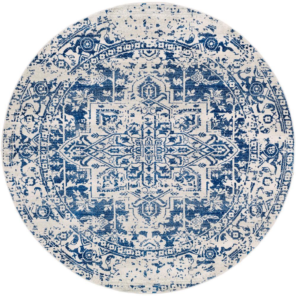 Artistic Weavers Demeter Dark Blue 5 ft. 3 in. Round Area Rug was $150.01 now $67.12 (55.0% off)