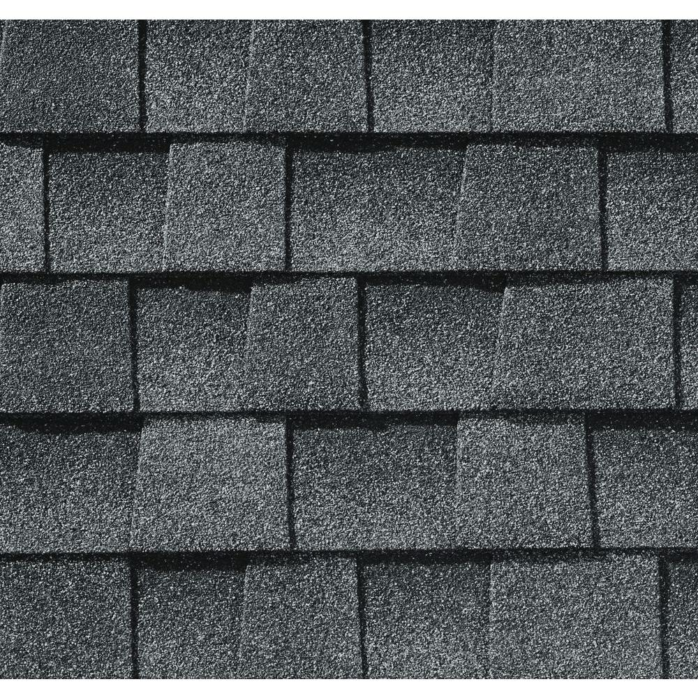 shingles gaf pewter gray timberline architectural shadow natural lifetime per roof depot bundle sq ft