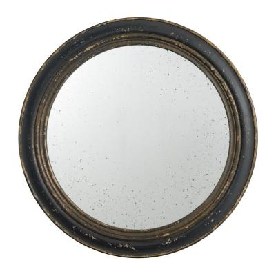 23.5 in. Distressed Brown Mirror