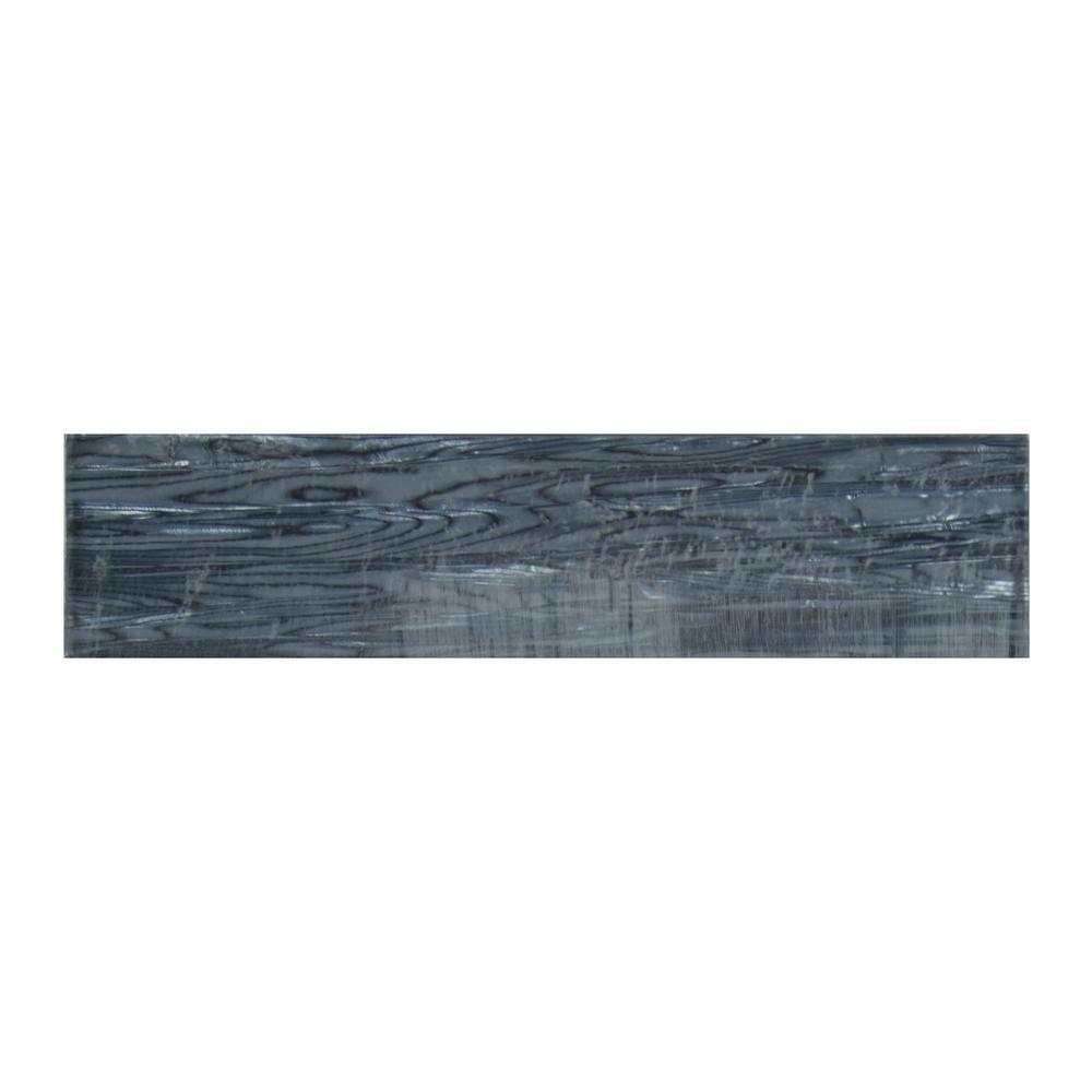Chilcott Shimmer 3 in. x 12 in. x 8mm Glass Wall Tile (5 sq. ft./case)