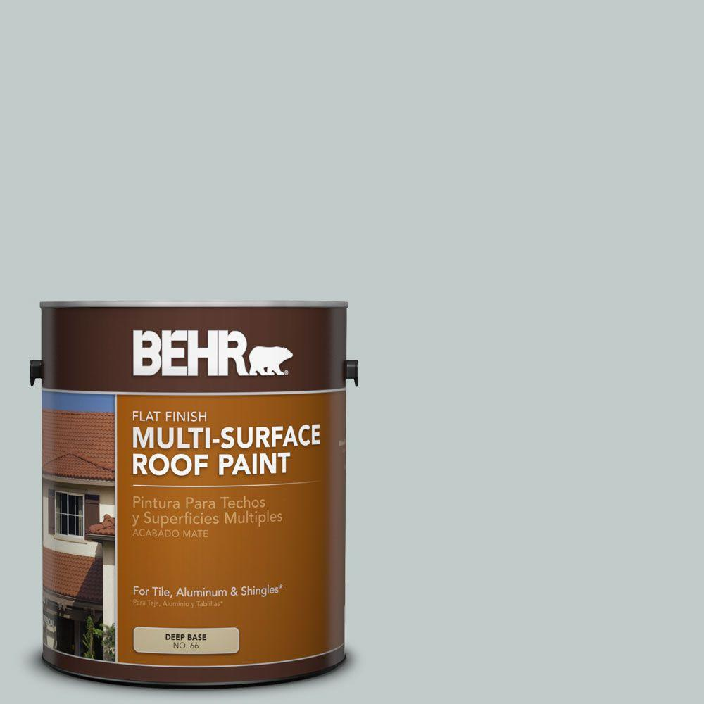 BEHR 1-gal. #RP-12 Royal Slate Flat Multi-Surface Roof Paint