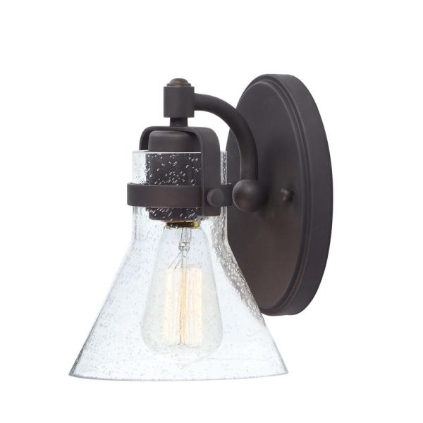 Seafarer 6 in. Wide Oil Rubbed Bronze Sconce