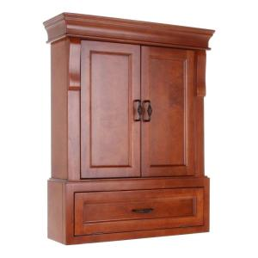 Foremost Ashburn 23-1/2 in. W Bathroom Storage Wall Cabinet in ...