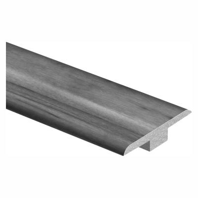 Courtship Grey Oak 7/16 in. Thick x 1-3/4 in. Wide x 72 in. Length Laminate T-Molding