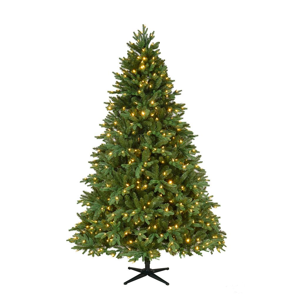 pre lit led harrison fir artificial christmas tree with