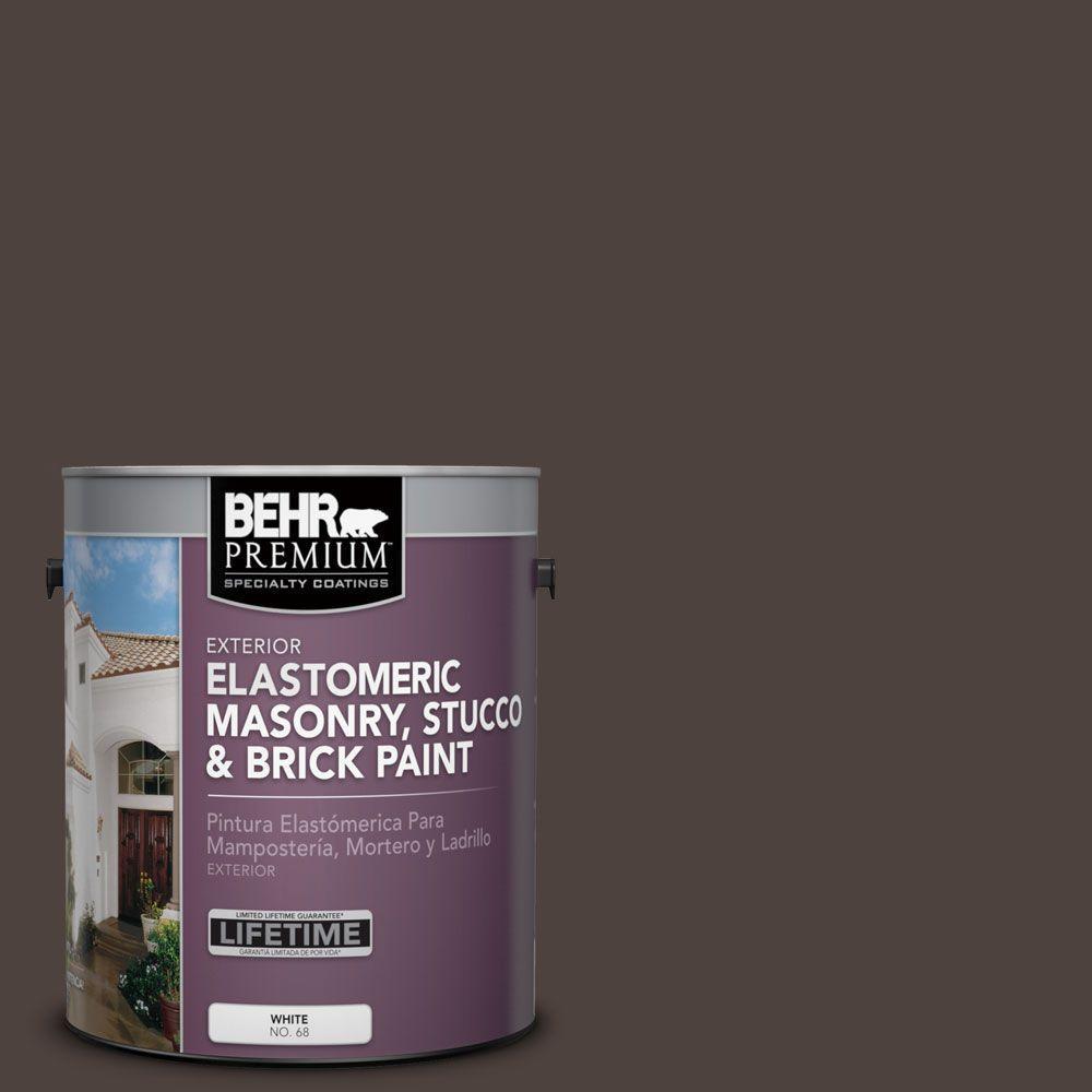 BEHR Premium 1 Gal. #MS-90 Deep Chocolate Elastomeric