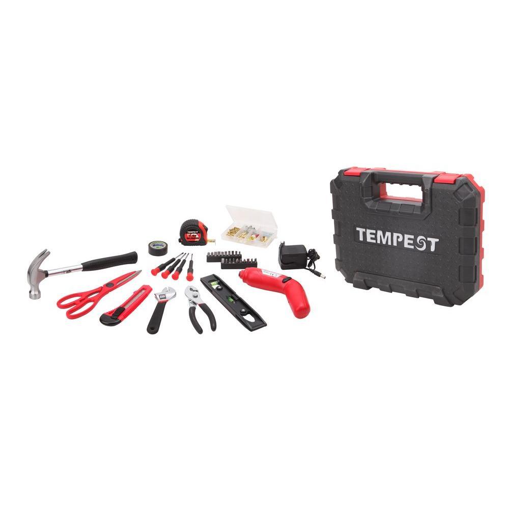 Sainty International Tempest General Home Tool Set (34-Piece)
