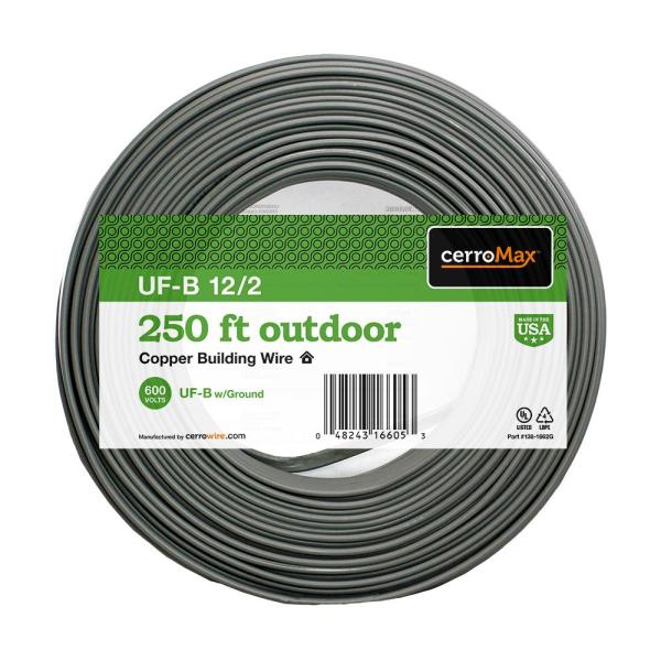 250 ft. 12/2 UF-B Wire