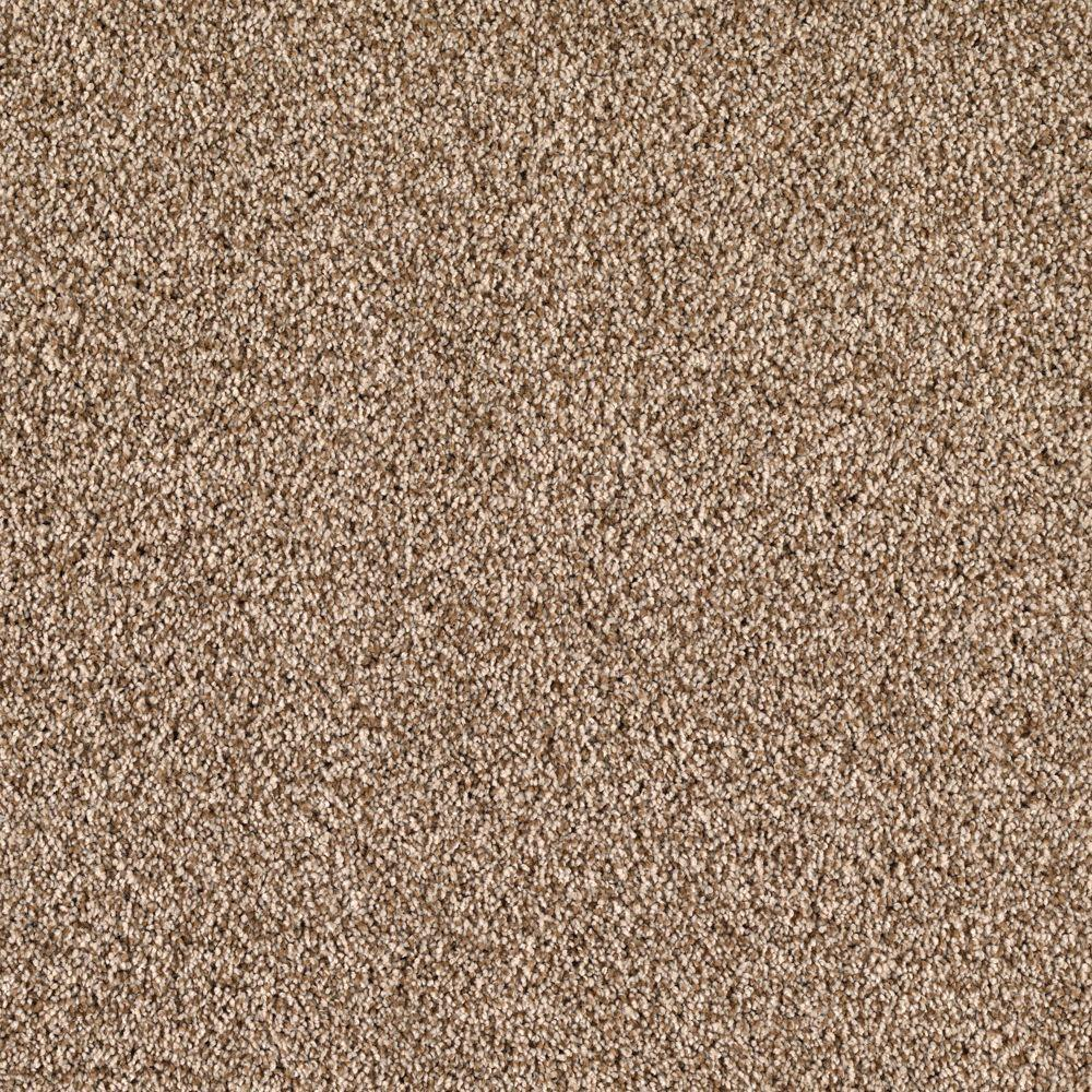 SoftSpring Lavish II - Color Sandy Dune 12 ft. Carpet