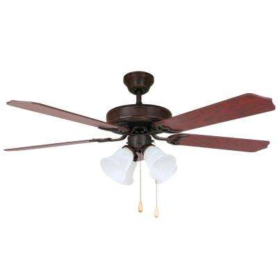 HARLI 52 in. Oil-Rubbed Bronze Ceiling Fan